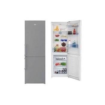 Réfrigérateur combiné Defrost Beko 365L - silver