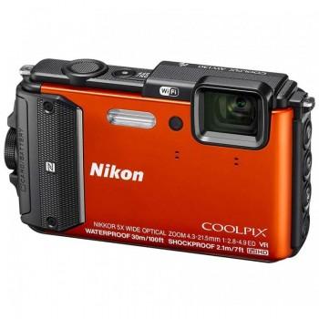Appareil Photo Numérique Nikon Coolpix AW130 Orange