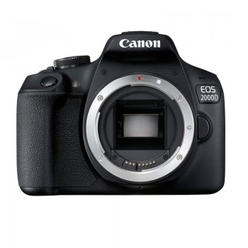 Appareil Photo Reflex CANON EOS 2000D + Objectif 18-55mm IS