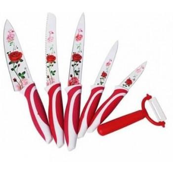 couteaux 6 pièces knef