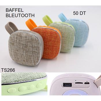 Haut-parleur Bluetooth avec lecteur de Carte SD et USB + Radio TS-266