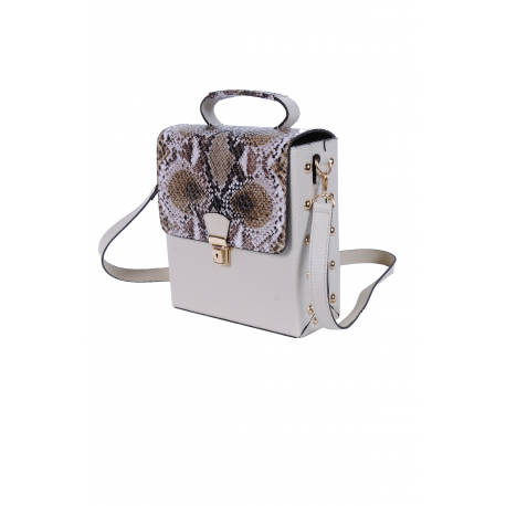 Valentino Collection Sac a main - SimiliCuir- Beige