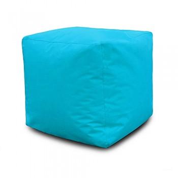 Pouf Carré 40*40*40 cm - Turquoise