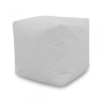 Pouf Carré 40*40*40 cm - Blanc