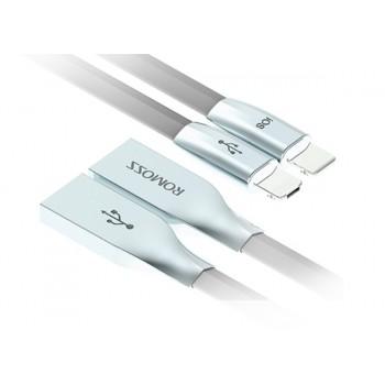 CÂBLE ROMOSS ROLINK LIGHTNING & MICRO-USB