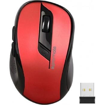 Souris Optique Sans Fil PROMATE Clix-7 Rouge