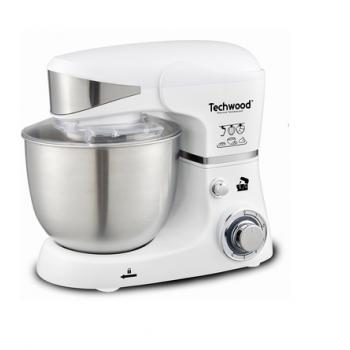 Robot Pétrin TECHWOOD TRO-1051 1000W Blanc
