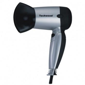 Sèche Cheveux de Voyage TECHWOOD TSC-1207 1200W Gris