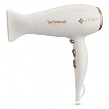 Sèche Cheveux Pro TECHWOOD TSC-2101 2100W - Blanc