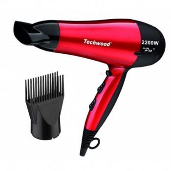 Sèche Cheveux Pro TECHWOOD TSC-9905 2200W - Rouge