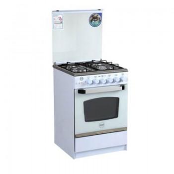 Cuisinière à Gaz AZUR AZ6060W 60cm - Blanc