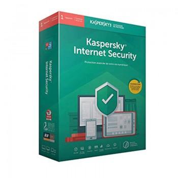 Internet Security KASPERSKY 2020 1Poste / 1an