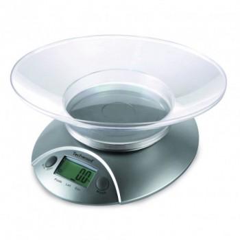 Balance de Cuisine Électronique TECHWOOD TPA-560 5kg - Gris