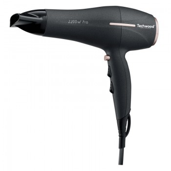 Sèche Cheveux Pro TECHWOOD TSC-2296 2200W - Noir