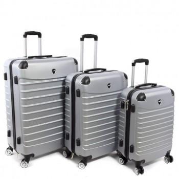 Set de trois valises Herwex - Gris