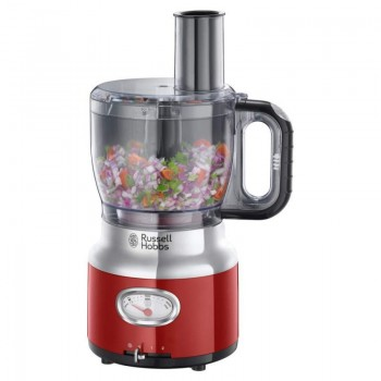 Robot Multifonction Retro Russell Hobbs - Rouge