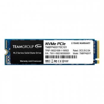 Mémoire Flash TeamGroup MP34 M.2-2280 PCIe - 1To SSD