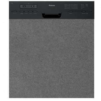 Lave Vaisselle FOCUS F502B Semi Encastrable - Noir