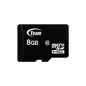Carte mémoire TeamGroup 8Go Micro SD HC Class 10 UHS avec adaptateur