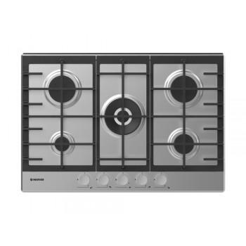 Plaque de cuisson Hoover 5 Feux 75cm - Inox
