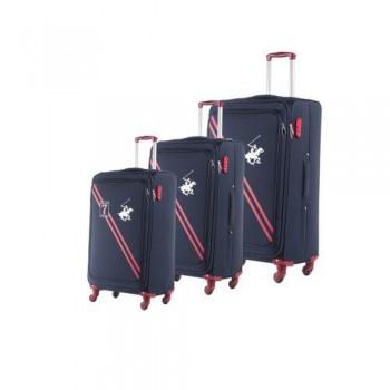 Set De Trois valises Beverly Hills Polo Club Noir