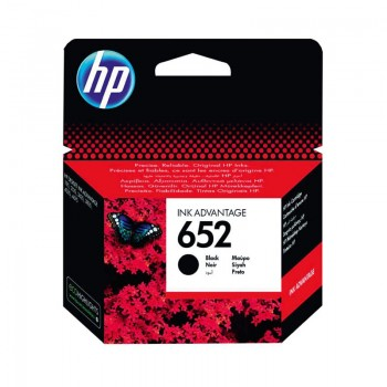 Cartouche d'encre HP 652 originale - Noir