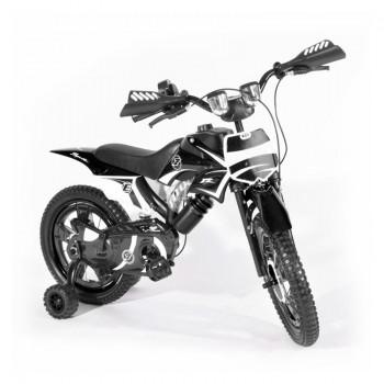 Bicyclette Moto-Cross pour enfant 4 - 6 ans - Noir