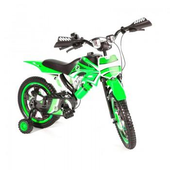 Bicyclette Moto-Cross pour enfant 4 - 6 ans - Vert