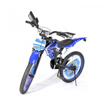 Bicyclette Moto-Cross pour enfant 5 - 7 ans - Bleu - Jacaranda Tunisie