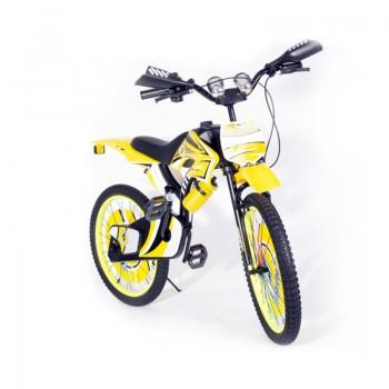 Bicyclette Moto-Cross pour enfant 8 - 12 ans - Jaune - Jacaranda Tunisie