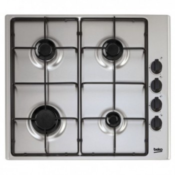 Plaque de cuisson encastrable BEKO 4 Feux inox HIZG64120X