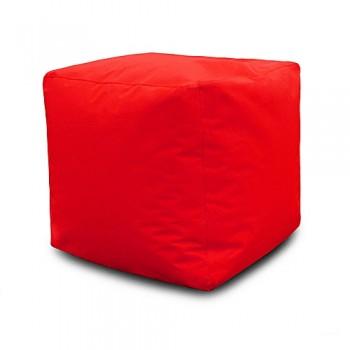 Pouf Carré 40*40*40 cm - Rouge