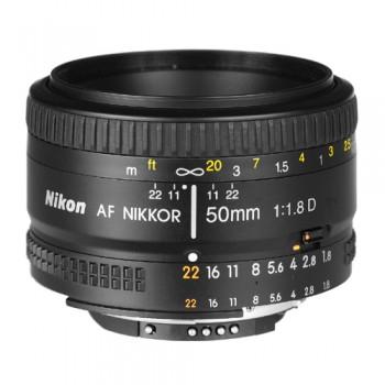 Objectif Nikon AF Nikkor 50MM F1.8D