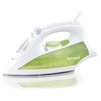 Fer à Vapeur 2400W Techwood - Blanc Vert