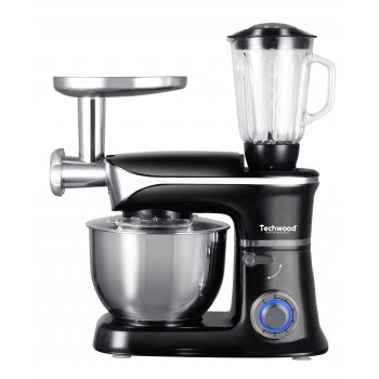 Robot Multifonction Techwood Food Processor - Noir