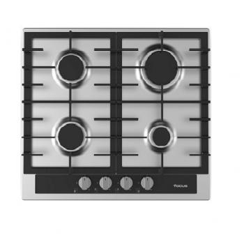 Table de cuisson fonte Focus 4 feux 60cm - inox