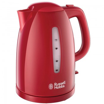 Bouilloire Textures Russell Hobbs - Rouge