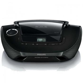 Lecteur CD PHILIPS AZ1837/12 2W USB Noir
