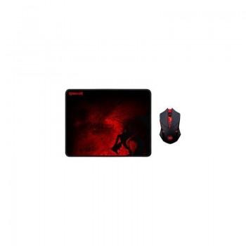 Pack Souris sans fil & Tapis de souris Gaming Redragon M601
