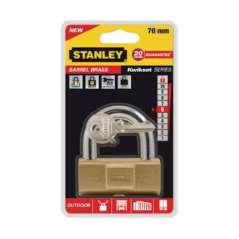 Cadenas Barrel Brass Stanley - 70mm