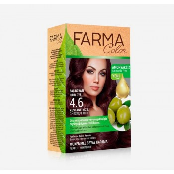 Farma Color BIO 4.6 - Châtain rouge