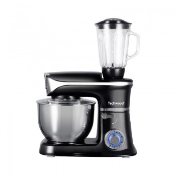 Robot Multifonction Techwood Food Processor 1300W - Noir