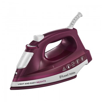Fer à repasser Russell Hobbs Light & Easy Brights - Mûre