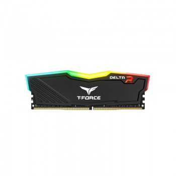 Barrette mémoire Gaming TeamGroup T-Force Delta RGB - 8 Go DDR4