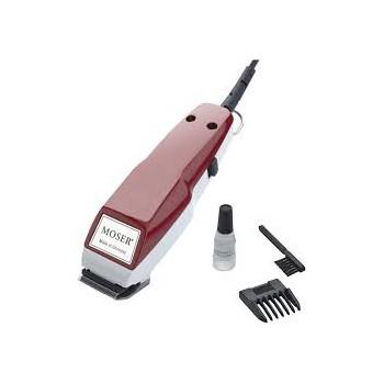 Tondeuse Cheveux MOSER 1400 Secteur - Noir&Rouge
