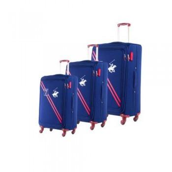 Set De Trois valises Beverly Hills Polo Club Bleu