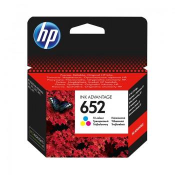 Cartouche d'encre HP 652 originale - Couleur
