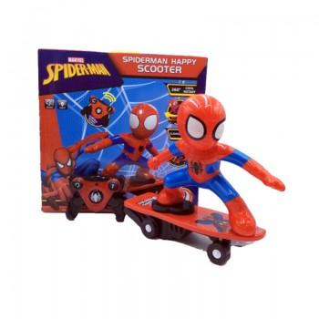 Spider-Man Happy Scooter avec commande pour enfant