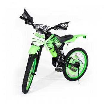 Bicyclette Moto-Cross pour enfant 5 - 7 ans - Vert - Jacaranda Tunisie