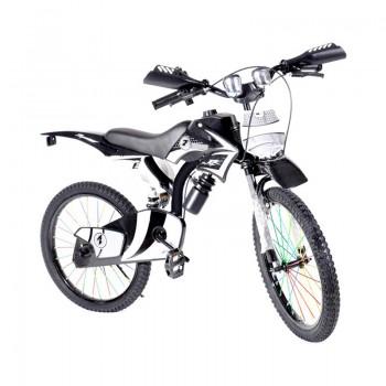 Bicyclette Moto-Cross pour enfant 8 - 12 ans - Noir - Jacaranda Tunisie